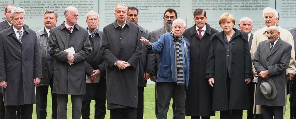 Denkmal für ermordete Sinti und Roma eingeweiht