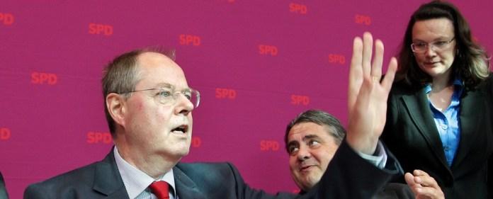 Peer Steinbrück: Vom potenziellen Staatsfeind zum Kanzlerkandidaten