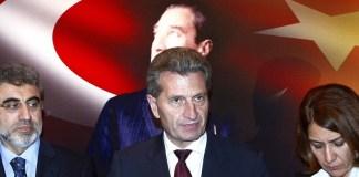 Was denkt Oettinger über die EU-Mitgliedschaft der Türkei?