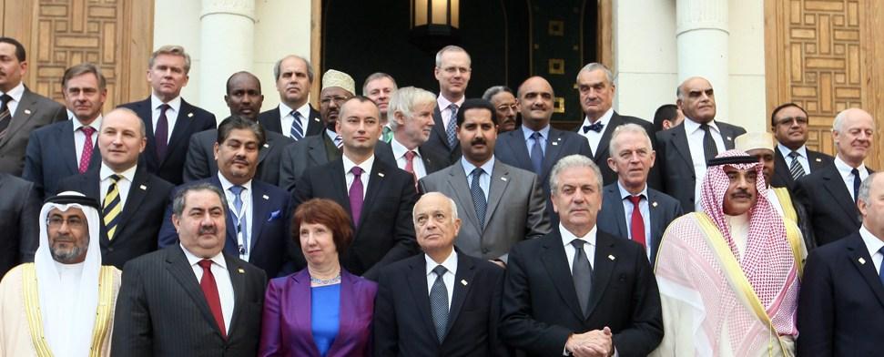 """Westerwelle: """"Zusammen mit Arabischer Liga den Konflikt lösen"""""""