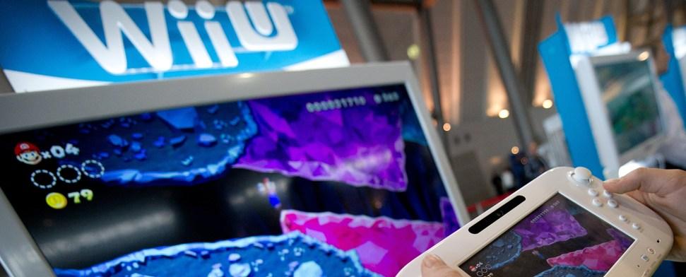 Wii U pünktlich zum Weihnachtsgeschäft im Handel erhältlich