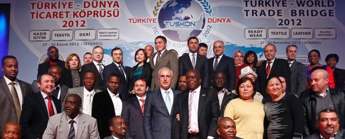Türkische Textilien für Afrika, Bauaufträge in dreistelliger Millionenhöhe