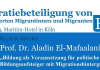 """Mit Blick auf die Wahlen am 22. September bildet das Thema """"Demokratiebeteiligung von HoMi"""" den Auftakt: Wie nehmen sie an der Gesellschaft teil? Wie gestalten sie diese mit? Welche parteipolitischen Präferenzen haben sie? Am morgigen Samstag wird dazu in Köln eine Tagung stattfinden, auf der die Ergebnisse der Studie zur Demokratiebeteiligung von hochqualifizierten Migrantinnen und Migranten vorgestellt werden."""