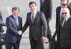 Nechirvan Barzani und Ahmet Davutoğlu trafen sich in Ankara