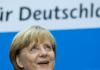Bundeskanzlerin Angela Merkel (CDU) spricht am 23.09.2013 im Konrad-Adenauer-Haus in Berlin auf einer Pressekonferenz nach der Bundestagswahl.