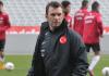 Okan Buruk als Interimstrainer der türkischen U21-Nationalmannschaft.