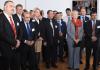 Hannelore Kraft und weitere prominente Gäste bei der Eröffnung der Landesredaktion von ZAMAN in Düsseldorf.