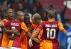 Galatasaray-Spieler im Hinspiel in Istanbul gegen FC Kopenhagen - cihan