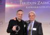 Feridun Zaimoglu und Jochen Thies bei der Preisverleihung vom Deutschen Dialogpreis 2013 - Kemal Kurt