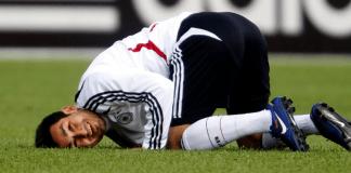 Ilkay Gündogan während eines Trainings in der deutschen Nationalmannschaft.