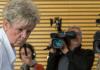 Brigitte Böhnhardt, Mutter die Mutter des mutmaßlichen NSU-Terroristen Uwe Böhnhardt, kommt am 06.06.2013 in Erfurt (Thüringen) zur Vernehmung durch den Thüringer Neonazi-Untersuchungsausschuss - dpa