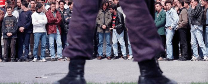 Serbischer Polizist im Kosovo - rtr