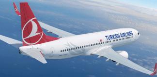 Ein Flugzeug von Turkish Airlines - cihan