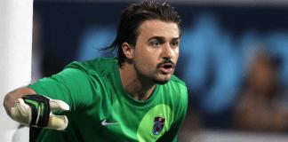 Torwart Onur Kivrak von Trabzonspor spielt eine hervorragende Saison.