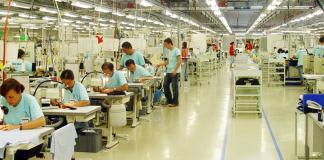 Textilfabrik in der Türkei