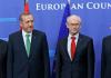 Martin Schulz mit Recep Tayyip Erdogan, Herman von Rompuy und Jose Manuel Barroso.