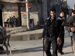 Kämpfer in Syrien