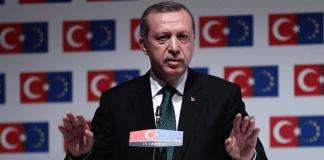 Der türkische Premier recep Tayyip Erdogan