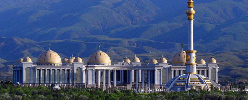 Die Hauptstadt Turkmenistans