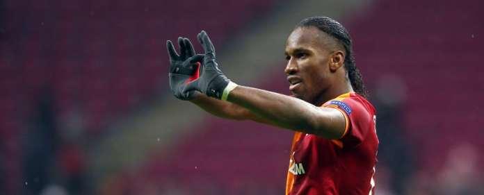 Der ivorische Nationalspieler Didier Drogba spielt seit Januar 2013 für Galatasaray Istanbul.