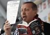 Der türkische Premierminister Recep Tayyip Erdogan