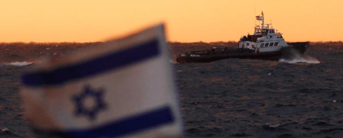 Elitesoldaten der israelischen Marine bringen im Roten Meer einen Frachter auf, der Raketen für die Palästinenser an Bord haben soll.