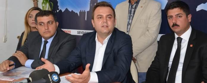 Devrim Kök, CHP-Vorsitzender in Antalya.
