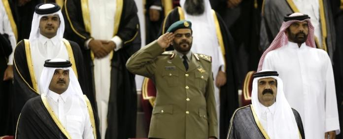 Machtkampf am Golf: Im Streit um Einfluss in Ägypten und Syrien geraten Saudi-Arabien und Katar immer heftiger aneinander. Riad bereitet nun neue Zwangsmaßnahmen gegen Katar vor.