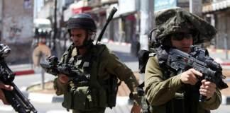 Israelische Soldaten in Hebron
