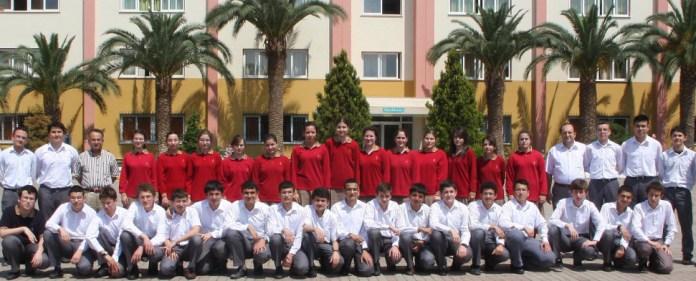 Die Yamanlar-Privatschule in Izmir.