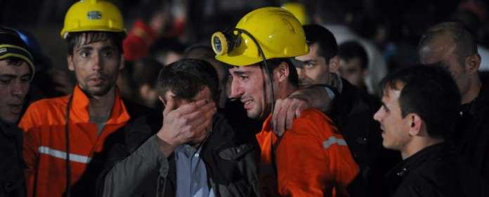 Türkei: Kumpel in Soma trauern um ihre Freunde und Kollegen.