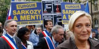 Der Front National und ihre Vorsitzende Le Pen sind gegen den EU-Beitritt der Türkei.