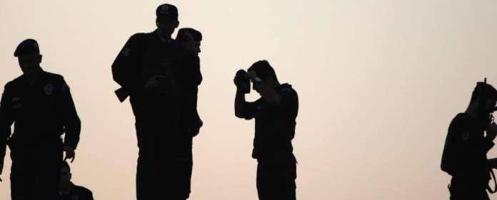 Türkische Soldaten im Einsatz gegen die PKK.