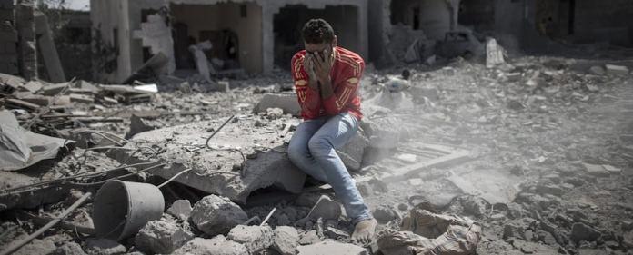 Die Zerstörungen im Gazastreifen sind nach 20 Kampftagen immens. Mehr als 1000 Palästinenser starben. Die Verzweiflung in dem eingekesselten und zerbombten Gebiet steigt. Einer dauerhaften Waffenruhe wollen jedoch beide Seiten bislang nicht zustimmen.