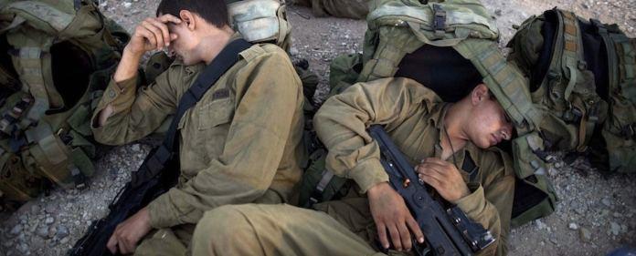 Israel: 43 Elite-Aufklärer der israelischen Armee lehnen es ab, sich weiter an Einsätzen zu beteiligen, die sich gegen die Palästinenser richten. (dpa)