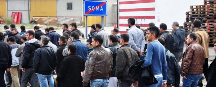 Bergarbeiter aus Soma marschieren wegen ausstehender Lohnzahlungen nach Ankara.