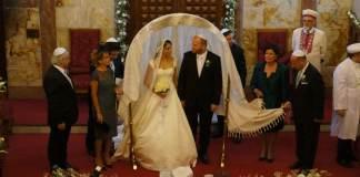 Eine jüdische Hochzeit in Istanbul.