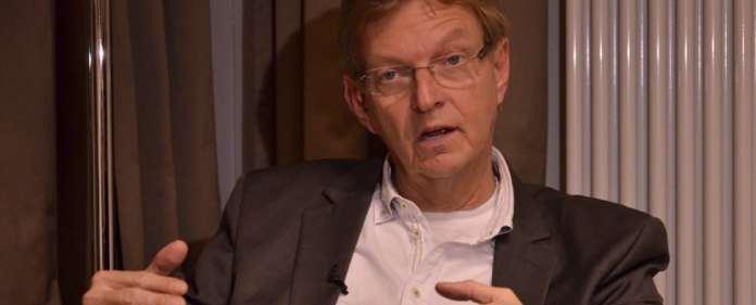 DJV-Vorsitzender Michael Konken besuchte am Montag die Zaman-Redaktion in Berlin.