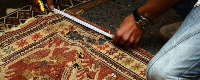 Der fünftgrößte Teppich der Türkei wurde restauriert.