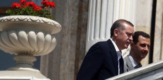 Erdogan mit Assad im Jahre 2010.