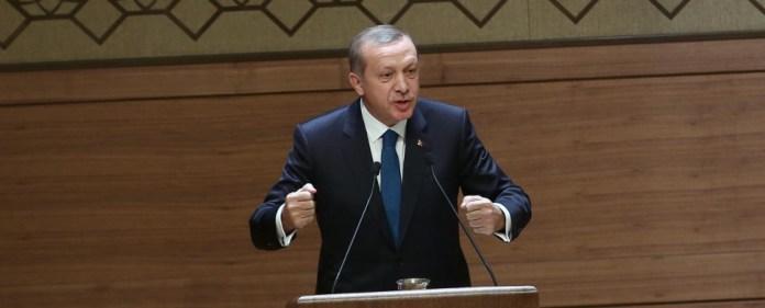 Der türkische Staatspräsident Recep Tayyip Erdoğan.