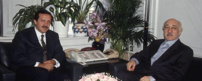 Erdogan mit Gülen im Jahre 1997.