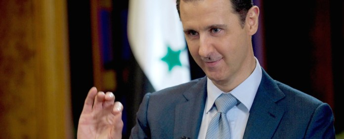 Bashar al-Assad in einem Interview mit BBC.