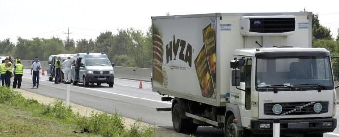 Über 70 tote Flüchtlinge in einem LKW gefunden.