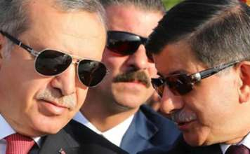 Erdoğan und Davutoğlu