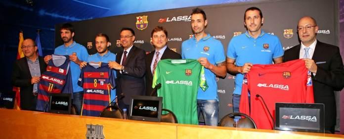 Sponsorvertrag mit Barcelona