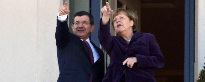 Davutoğlu und Merkel in Ankara