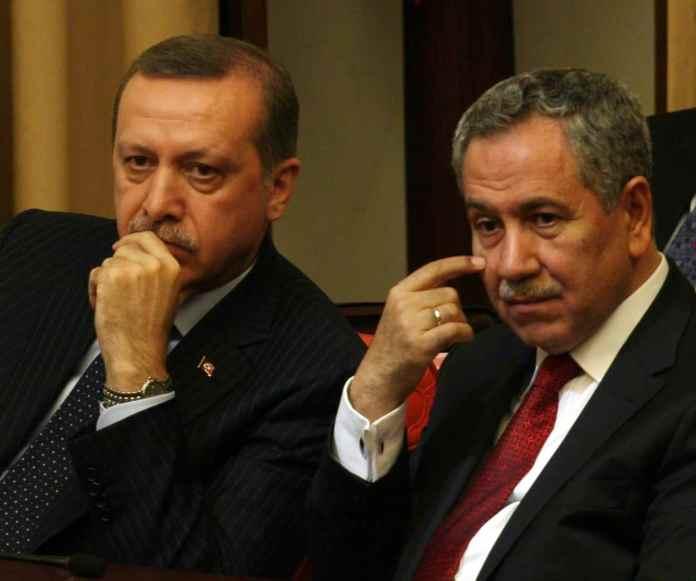 Bülent Arınç und Recep Tayyip Erdoğan