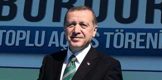 Recep Tayyip Erdoğan in Burdur