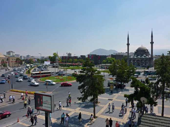 Cumhuriyet Meydanı in Kayseri